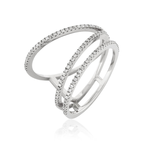 RoCHIC Fine Jewelry - White Gold Maxim Diamond Ring