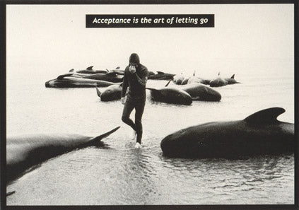 36 Acceptance is the art of letting go