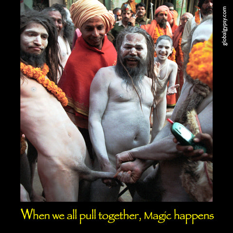 237 If we all pull together, Magic Happens