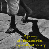 12  A Journey of a thousand miles begins with just one step