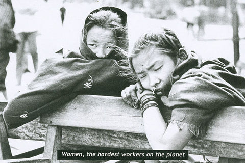 9  Women, the hardest workers on the planet
