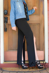 FLY AWAY - Front Slit Pants