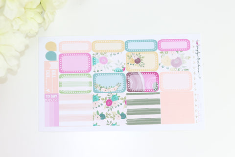 Jewel Half Boxes/ Washi Sheet