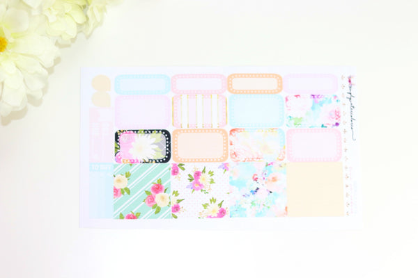 Hello Spring Half Boxes/ Washi Sheet