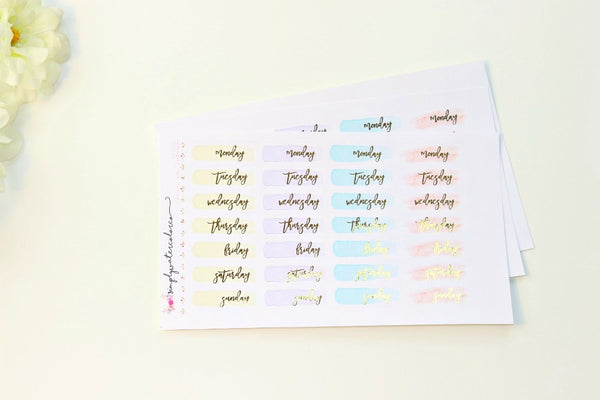 FOIL DateCoverups Emmy Colorway (Gold, Rose Gold, Silver)