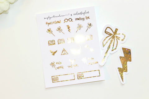 FOIL (VivLuvstoplan COLLAB) HP Bundle (Gold, Rose Gold, Silver Foil)