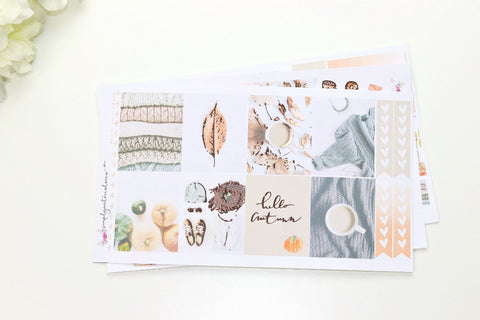 FOIL Spice MINI Kit (Rose Gold Foiled) // ECLP Planner Stickers