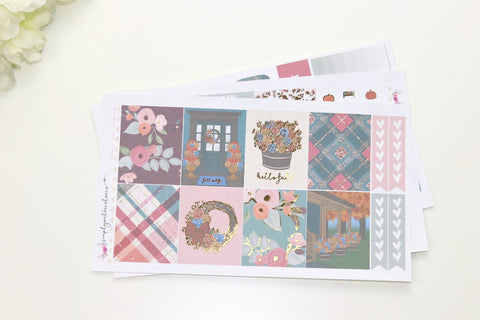 FOIL Amber MINI Kit (Gold Foiled) // ECLP Planner Stickers