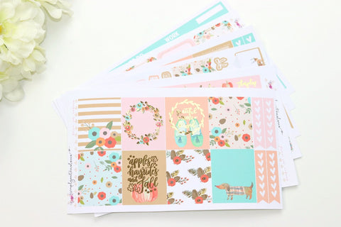 FOIL Hannah Deluxe Kit (Gold Foiled) // ECLP Planner Stickers