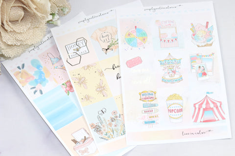 FOIL 4/26/19 KIT Release Bundle // ECLP Planner Stickers