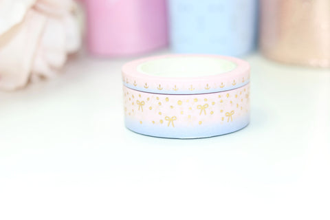 Soft Nautical Washi Tapes // Gold Foil