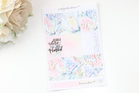FOIL Bloom MINI Kit (RG Foiled) // ECLP Planner Stickers
