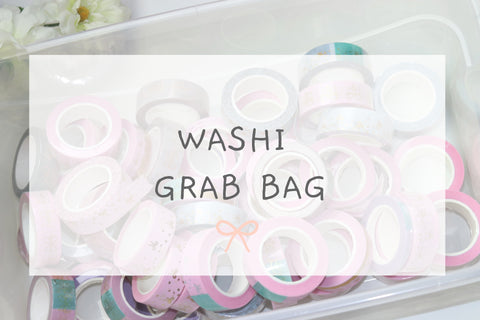 Washi Glitter Grab Bag