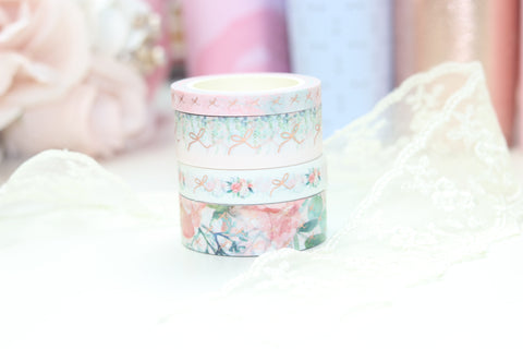PaperBlushBar COLLAB Washi // Rose Gold Foil