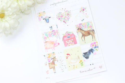 FOIL Farm Life MINI Kit (Gold Foiled)