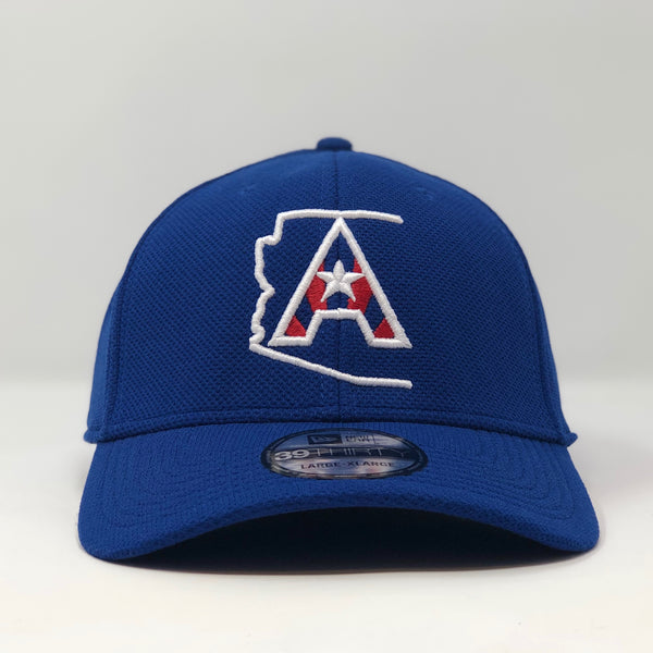 Arizoniacs Logo New Era Fitted Cap - Royal