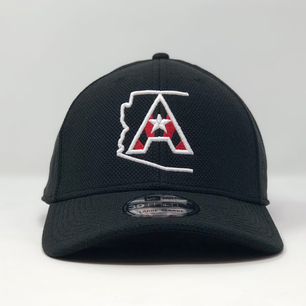 Arizoniacs Logo Fitted Cap - Black