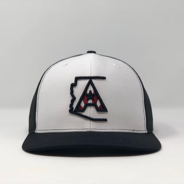 Arizoniacs Logo White/Black Trucker Hat