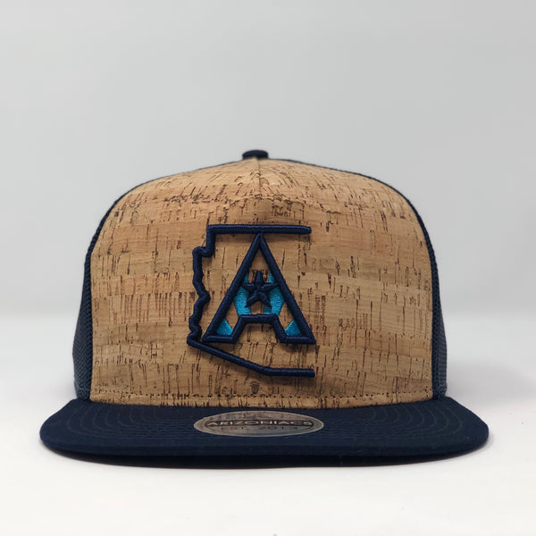 Arizoniacs Navy Blue Cork Hat