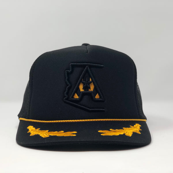 Arizoniacs Logo Captain Trucker Hat