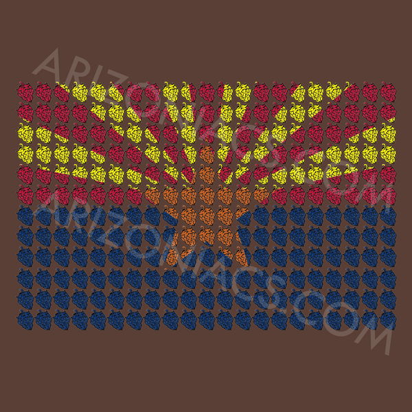 Arizona Hoppy Flag (Various Colors)