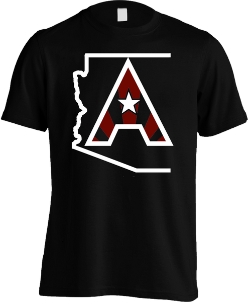 Arizoniacs Logo - Men's Black/White