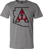 Arizoniacs Logo - Men's Grey
