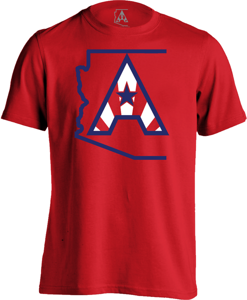 Arizoniacs Logo - Men's Red