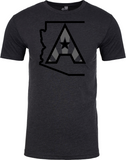 Arizoniacs Logo - Men's Black/Grey
