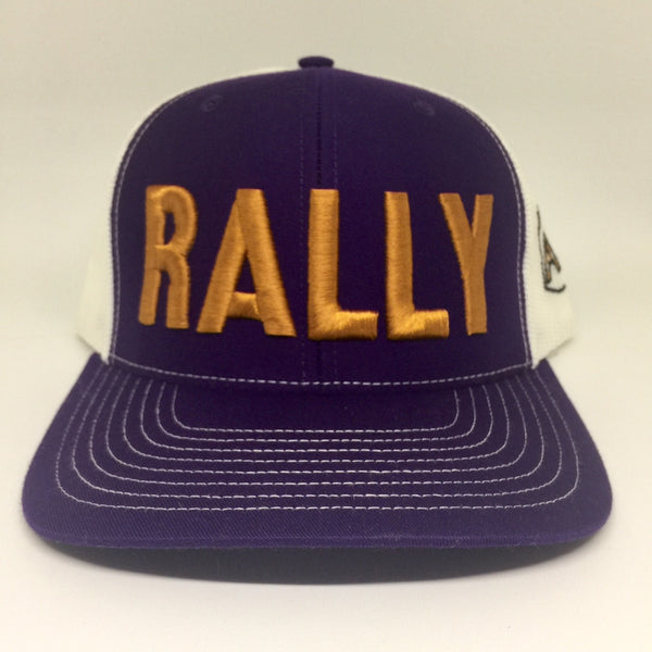 Rally Cap Purple/Copper Trucker Hat
