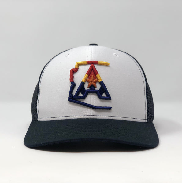 Arizoniacs 4-Color Logo White/Navy Trucker Hat