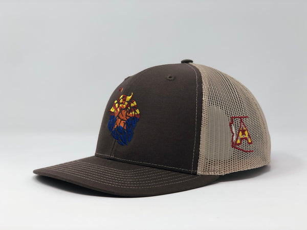 Arizona Beer Hop Trucker Cap - Brown/Khaki