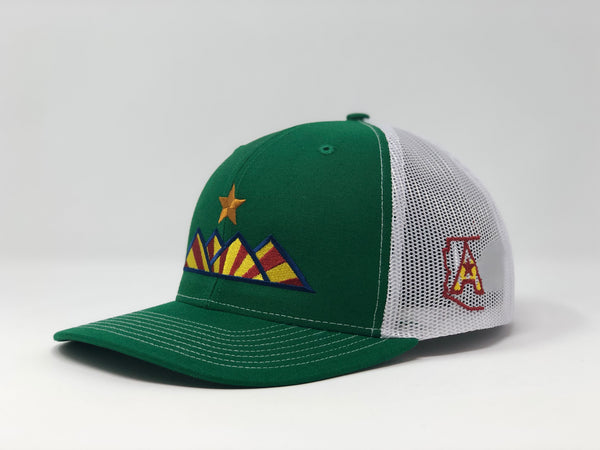 Hike Trucker Hat - Kelly Green