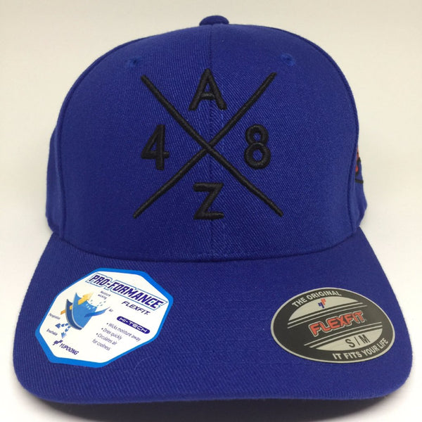 AZ48 Compass Fitted Cap - Royal