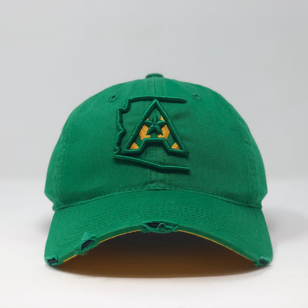 Arizoniacs Logo Dad Hat - Kelly Green
