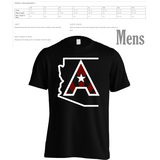 Arizoniacs Logo - Men's four-color