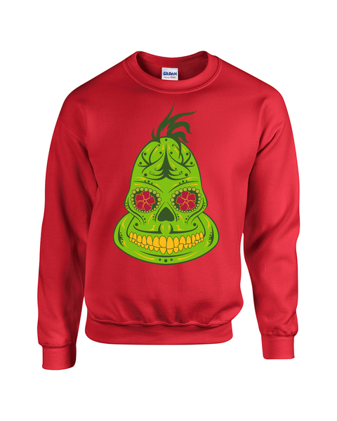Ugly Christmas Sweater - Grinch
