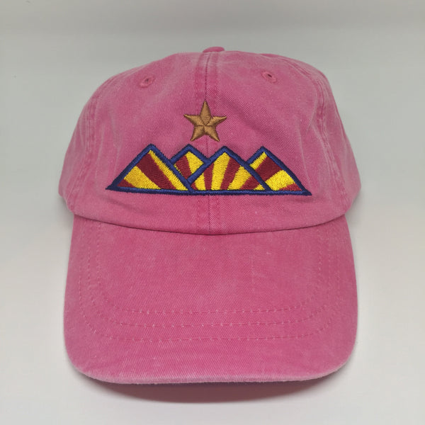 Hike Dad Hat - Pigment Dyed Pink