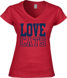 Love Cats - Wildcats Women's tee