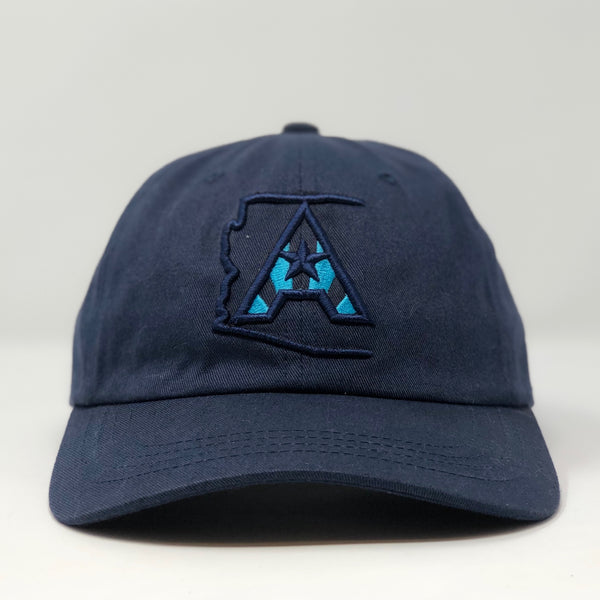 Arizoniacs Logo Dad Hat - Navy