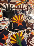 Arizoniacs Stickers
