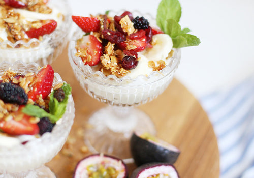 Three Easy-to-Make Summer Parfaits