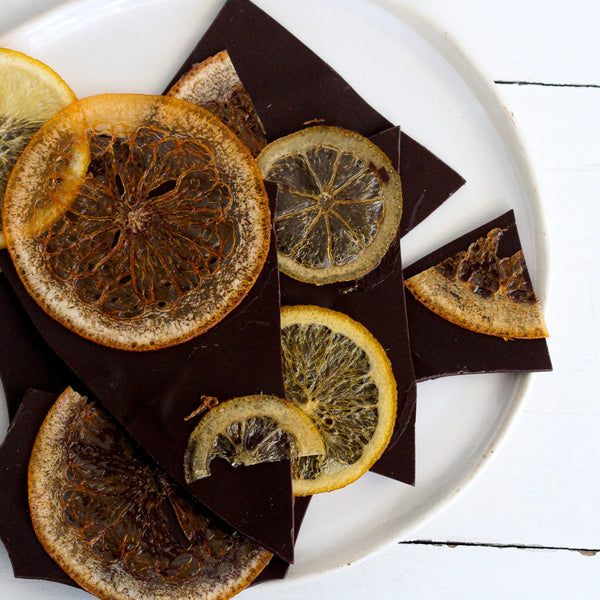 Dark Chocolate & Orange Bark