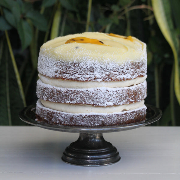 Layered Passionfruit Butter Cake – Small
