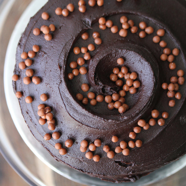 Chocolate Cream Cheese Layer Cake Small