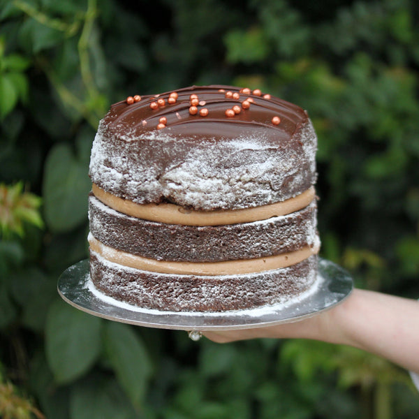 Layered Classic Chocolate Cake – Medium