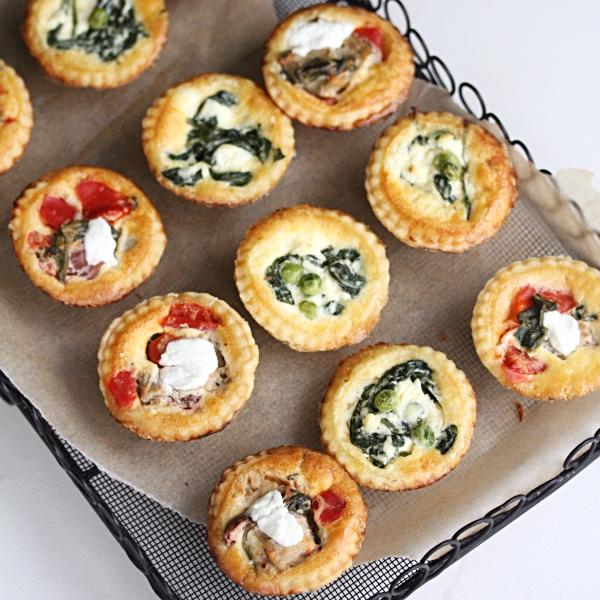 Mini Assorted Quiches