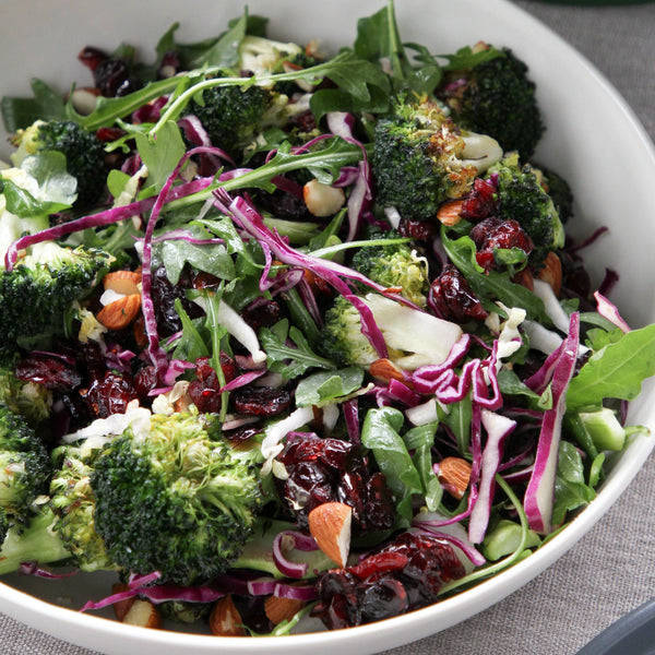 Broccoli, Cranberry and Almond Salad