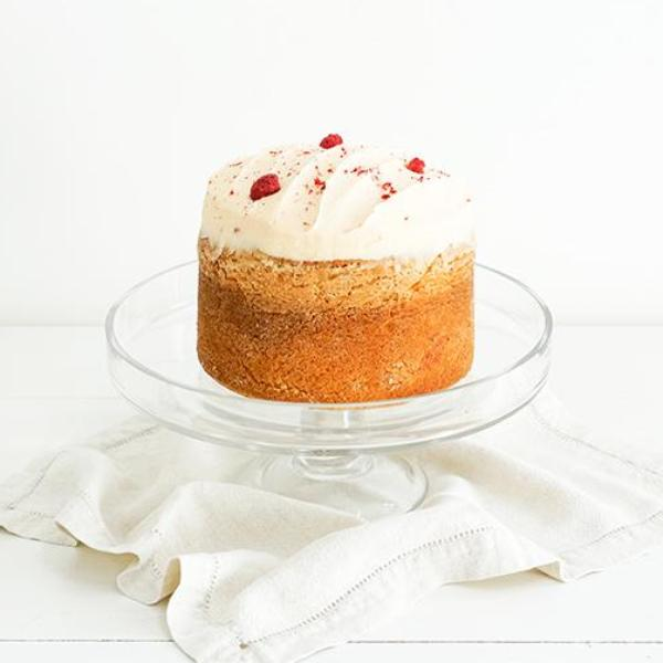 Butter Cake Raspberry Large Round