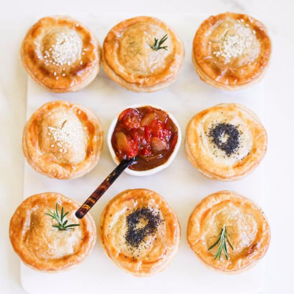 Mini Pies Dozen Lamb & Rosemary